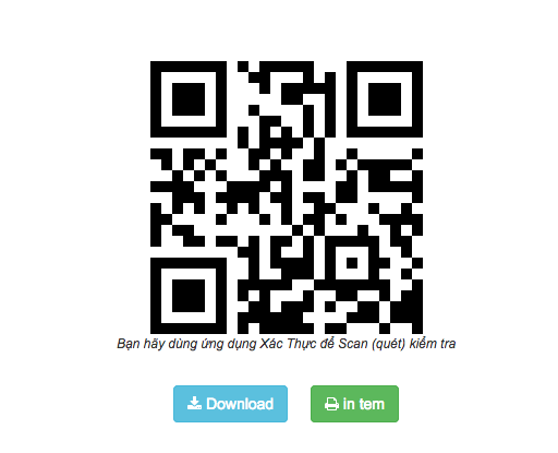 Hiểu rõ về tem QR Code truy xuất nguồn gốc sản phẩm